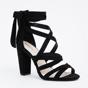 Brand New Strappy Heels by Torrid 9ww